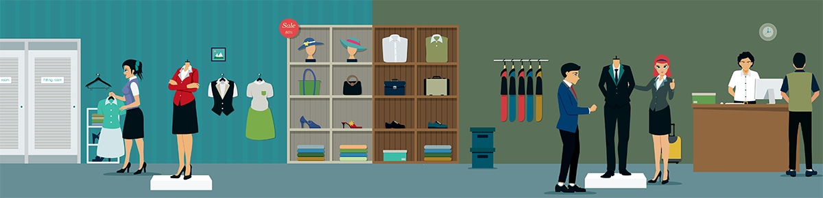 Тренинги по продажам женской и мужской одежды