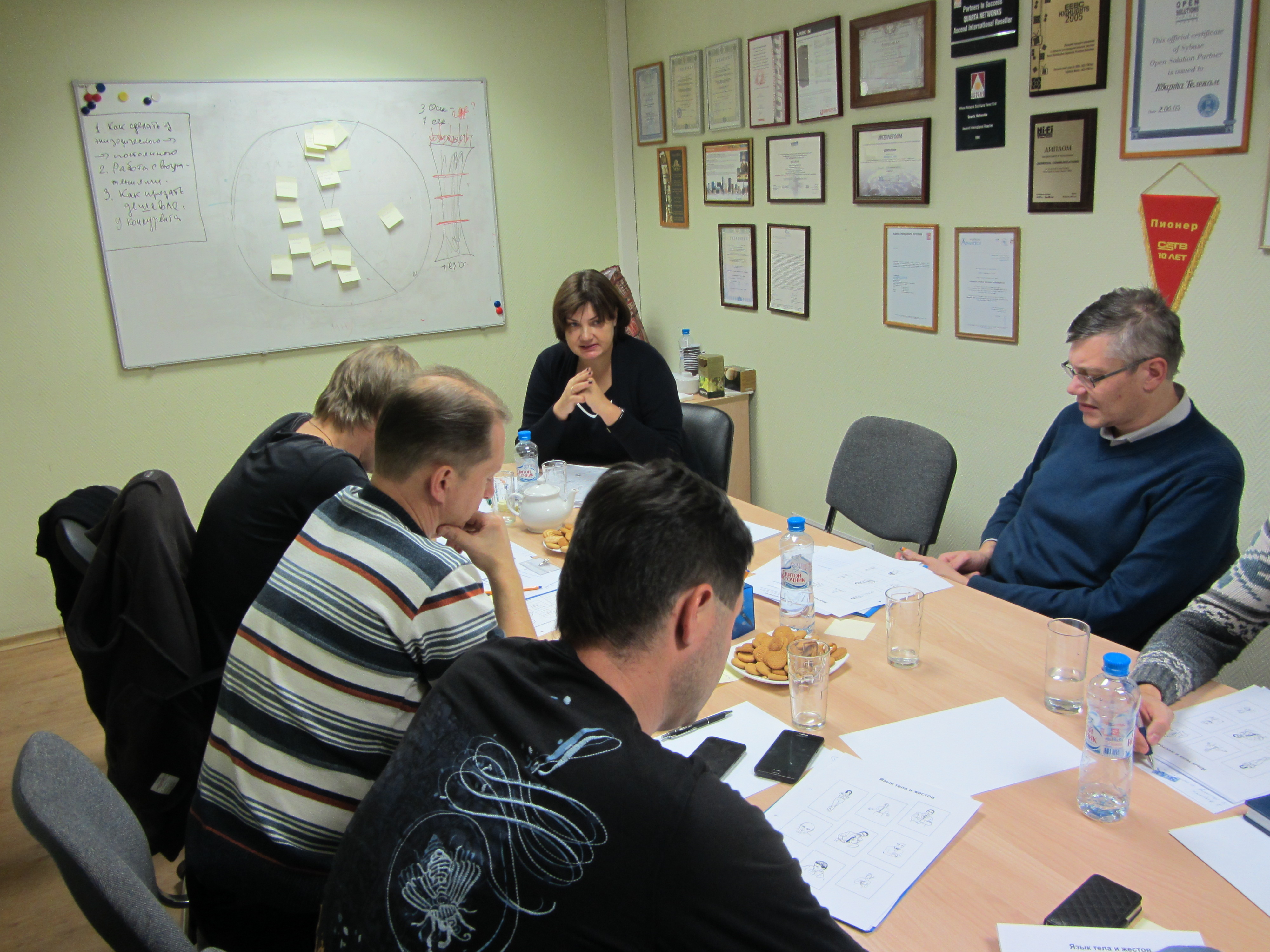 Тренинг продаж UNIVERSAL Communications работа