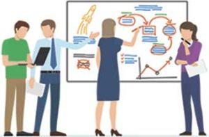 Аватар Сотрудники обсуждают планы