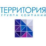 Логотип ГК Территория горизонтальный