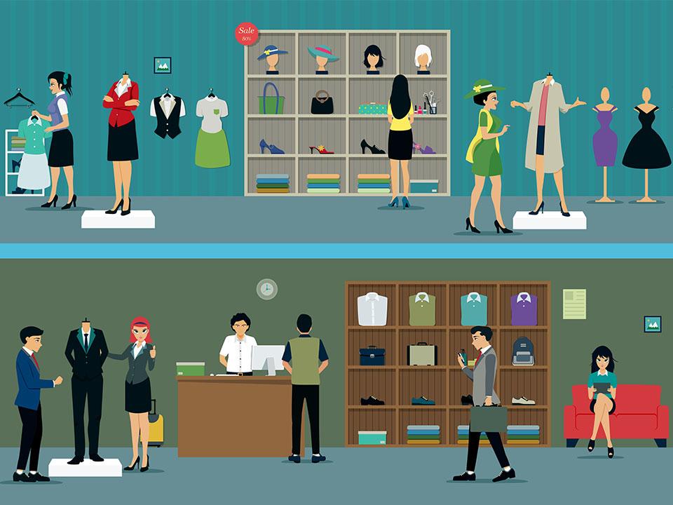 Тренинг для продавцов консультантов одежды мобильный